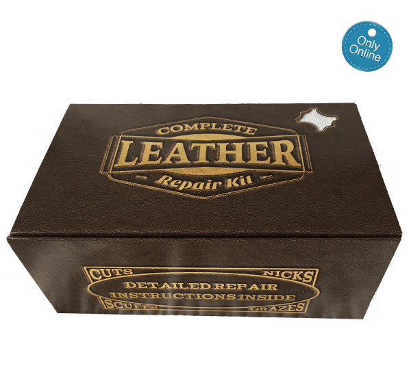 Brown Leather Couch Repair Kit. Large Dark Brown Circle Leather ...