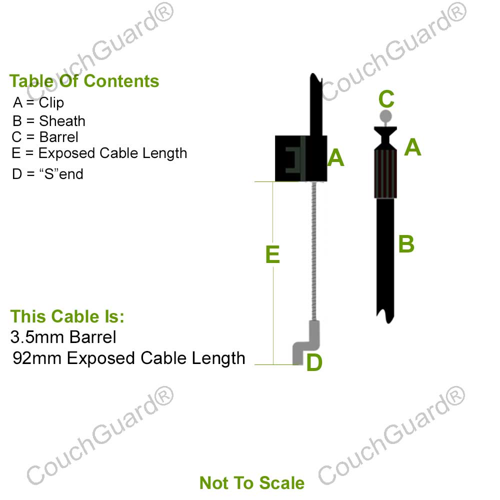 recliner cable