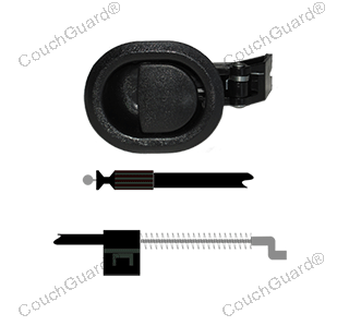 small black recliner cable