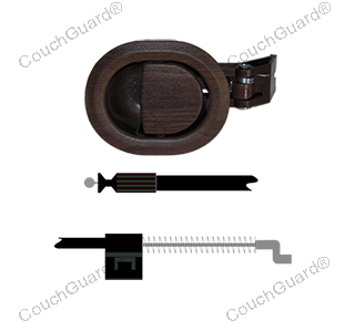 woodgrain recliner cable