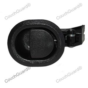 small black recliner handle
