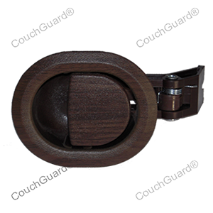 woodgrain recliner handles